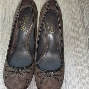 Like New: Coach Wedge Shoes